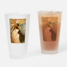 Penguin! Wildlife, nature art! Drinking Glass