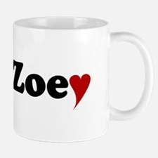 Zoey with Heart Mug