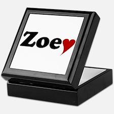 Zoey with Heart Keepsake Box