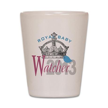 Royal Baby Watcher 2013 Shot Glass