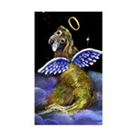 Golden Angel Sticker (Rectangular)