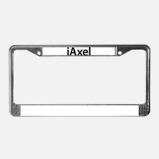 iAxel License Plate Frame