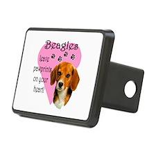 Beagle Pawprints 2 Hitch Cover