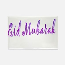 Eid Mubarak Rectangle Magnet