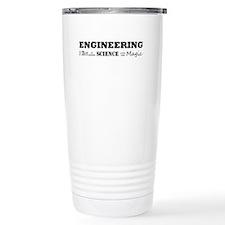 Unique Engineer Stainless Steel Travel Mug