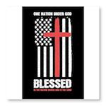 US flag e1 Sticky Notepad