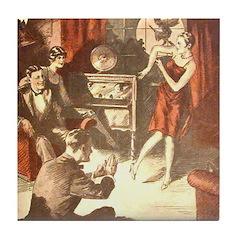 September, 1926 Tile Coaster