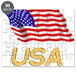 Flag of US e2 Puzzle
