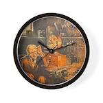 September, 1928 Wall Clock
