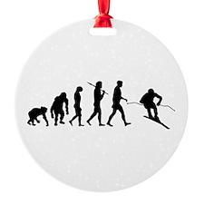 Downhill Skiing Ornament