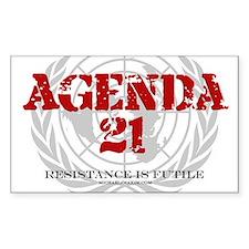 Agenda 21 Decal