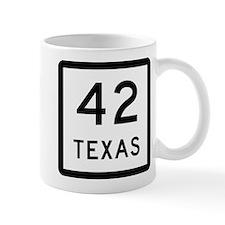 Texas 42 Small Mug