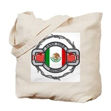 Hard Core Mexico Boxing Tote Bag
