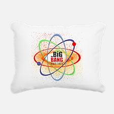 Big Bang Theory Brights Rectangular Canvas Pillow