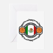 Mexico Basketball Greeting Cards (Pk of 10)