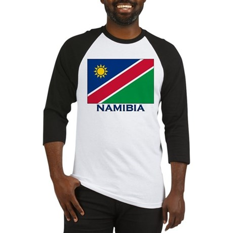 Flag of Namibia Baseball Jersey