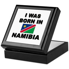 I Was Born In Namibia Keepsake Box