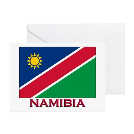 Namibia Flag Stuff Greeting Cards (Pk of 10)