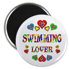 Swimming Lover Magnet