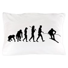 Downhill Skiing Pillow Case