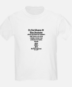 The Real Weapons Of Mass Destruction T-Shirt
