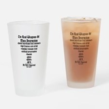 The Real Weapons Of Mass Destruction Drinking Glas