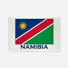 Namibia Flag Merchandise Rectangle Magnet