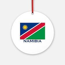 Namibia Flag Merchandise Ornament (Round)