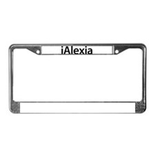 iAlexia License Plate Frame
