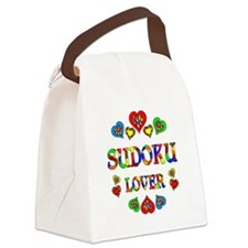 Sudoku Lover Canvas Lunch Bag