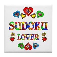 Sudoku Lover Tile Coaster