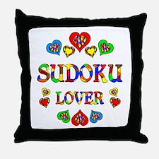 Sudoku Lover Throw Pillow