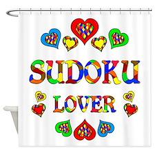 Sudoku Lover Shower Curtain