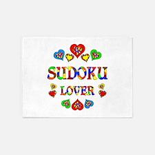 Sudoku Lover 5'x7'Area Rug