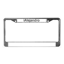 iAlejandro License Plate Frame