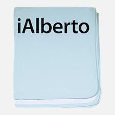 iAlberto baby blanket