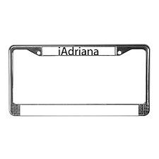 iAdriana License Plate Frame