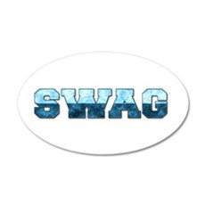 Swag Wall Decal