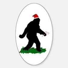Christmas Squatchin Decal