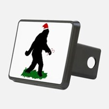 Christmas Squatchin Hitch Cover