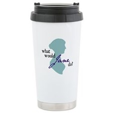Jane austen Travel Mug