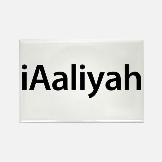iAaliyah Rectangle Magnet