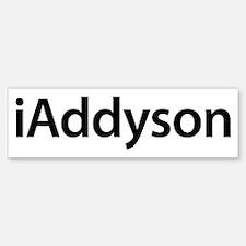 iAddyson Bumper Bumper Bumper Sticker