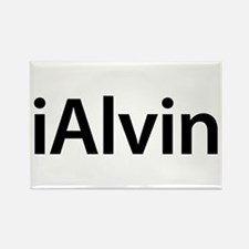 iAlvin Rectangle Magnet