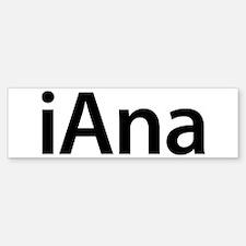 iAna Bumper Bumper Bumper Sticker