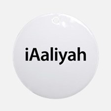 iAaliyah Round Ornament