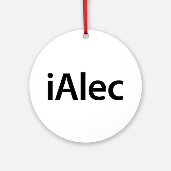 iAlec Round Ornament