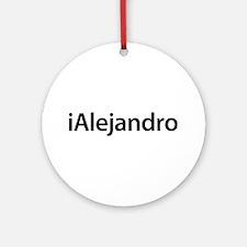 iAlejandro Round Ornament