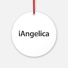 iAngelica Round Ornament