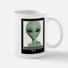 Intelligent Design: Believe in it. Mug